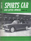 Sports Car + Lotus Owner 1/61 Fiat 600 Abarth 1000 Innes Ireland Jim Clark +