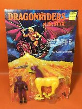 Rare 1982 Vintage DFC Dragonriders of the Styx ROOZAN & DEOMN RIDER * MOC