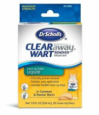 Dr. Scholl's Wart Remover Fast-Acting Liquid 1/3 OZ