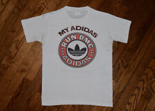 1986 RUN DMC My ADIDAS rap T-Shirt true vintage 80s hip-hop tee beastie boys M