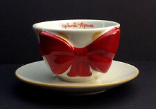 DISNEY Store MINNIE MOUSE Signature Collection BOW Cup & SAUCER Tea SET Box NEW
