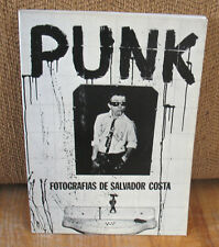 Salvador Costa Punk Black and White Photographs By Fotografias de 1st PB 1977