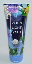 NEW BATH & BODY WORKS MOONLIGHT PATH ULTRA SHEA CREAM HAND LOTION MOISTURE 8 OZ
