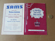 MIDDLESBROUGH  Empire  Moulin Rouge 10/06/57 Theatre Programme