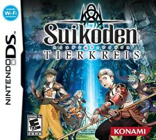 Suikoden: Tierkreis (Nintendo DS DSi, Konami Exclusive RPG Video Game) Brand NEW