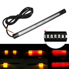 Flexible 48 LED SMD Strip Motorcycle Car Tail Turn Signal Brake Stop Lamp 12V