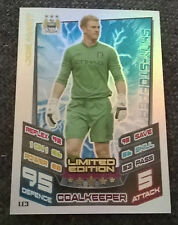 MATCH ATTAX EXTRA 2012 2013 LIMITED EDITION LE3 JOE HART MANCHESTER CITY