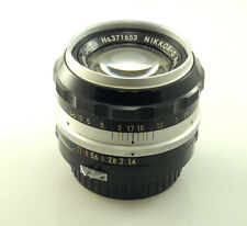 NIKON NIKKOR-S AUTO 50mm 1.4 NON-AI F-Mount **PLEASE READ**