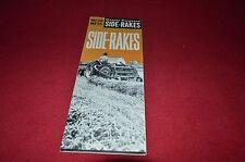 Massey Ferguson 20 25 Side Rake Dealers Brochure DCPA6