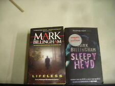 2 MARK BILLINGHAM LIFELESS SLEEPYHEAD pb lot