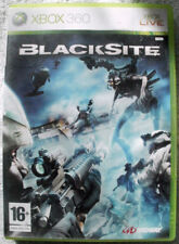 BLACKSITE XBOX 360 RATING 16  USED