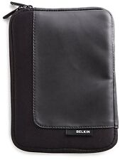 Belkin Neoprene Portfolio Sleeve Kindle Case F8N098 Black New