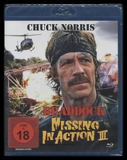 BLU-RAY MISSING IN ACTION 3 - BRADDOCK - UNCUT - CHUCK NORRIS - Vietnam-Krieg **