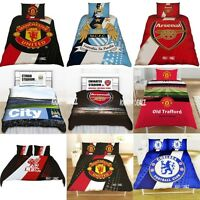 Official Football Club Single and Double FC Duvet Cover Bed Bedding Sets Gift