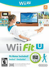 NEW Wii Fit U + Fit Meter Nintendo Games Fitness Rated Everyone Factory Sealed