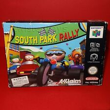 VINTAGE 1999 NINTENDO 64 N64 SOUTH PARK RALLY CARTRIDGE VIDEO GAME PAL BOXED