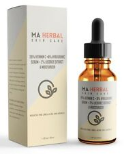 Vitamin C Serum for Face With Hyaluronic Acid for Wrinkles & Acne