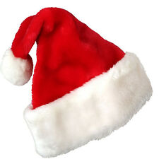 Hot Christmas Party Santa Hat Red And White Cap for Santa Claus Costume Xmas New