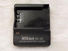 Nikon mh-60 Genuine caricabatteria forcoolpix 2500 3500 autentico e originale