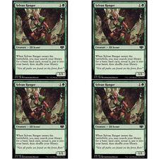 4 x SYLVAN RANGER NM mtg Commander 2014 Green - Elf Scout Com