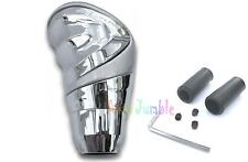 Gear knob SILVER & CHROME HONDA CIVIC TYPE R S ACCORD race shifter universal car