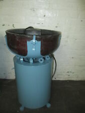 Bel-Air Vibratory Finishing Machine, Model FM 2000 1/2 Cu Ft VERY NICE!
