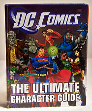 DC Comics The Ultimate Character Guide to All Heroes & Villains (2011 Hardcover)