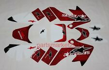 3M Star Emblems Decals Graphics For CRF50 Pit bikes Honda Thumpstar SDG SSR DHZ