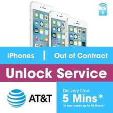 Factory Unlock code service imei AT&T for iPhone 7 Plus 7 6 6+ 5 SE fast 5 Mins