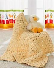 CROCHET  PATTERN FOR  BABY PUFF STITCH BABY BLANKET
