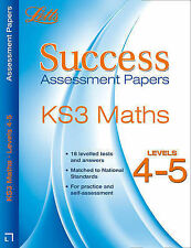 Maths Levels 4-5: Assessment Papers by Bob Hartman (Paperback, 2010)
