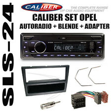 Opel Vivaro Omega Agila Radio USB SD ISO Adapter Blende Antenne Adapter schwarz