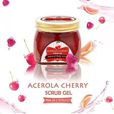 2 X Acerola Cherry Scrub Gel by Little Baby Whitening Skin Reduce Dark Spot