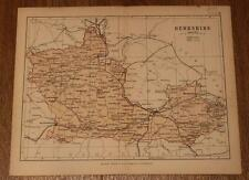 1877 Philips' Map of Berkshire from his Handy Atlas
