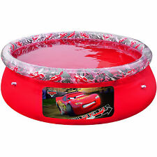 "NEW BESTWAY LARGE FUN DISNEY CARS FAST SET POOL 78"" x20"" SWIMMING PADDLING POOLS"