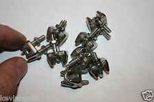 Cable Clamps #4 metric Stainless Steel package of 8