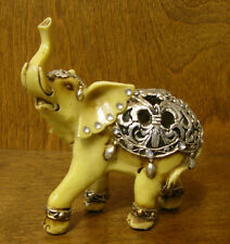 Resin Figurine from GSC #88125  IVORY LOOK ELEPHANT, NEW From Retail Store 4.75""