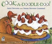 COOK-A-DOODLE-DOO by Janet Stevens (pb)  NEW