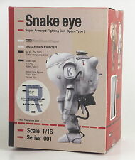 Max Factory Maschinen Krieger Snake eye 1/16 Action figure Robert W.Stenglein
