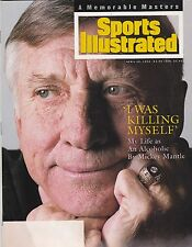 4-18-94 SPORTS ILLUSTRATED MICKEY MANTLE NEW YORK YANKEES