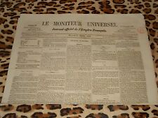 LE MONITEUR UNIVERSEL, journal officiel de l'empire français, n° 286, 13/10/1858