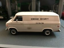 1985 Chevrolet G-20 Van The Big Lebowski Sobchak Security VAN 1/64 DIECAST MODEL