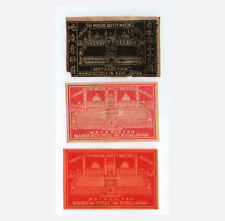 VERY OLD match box labels CHINA or JAPAN patriotic #059