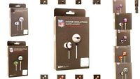 NFL IHIP Black Box Ear Buds All Teams Official Licensed - Pick Your Team!