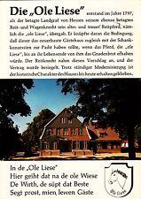 """Panker , Hotel """"Ole Liese"""", Ansichtskarte , 1980 gelaufen"""