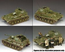 KING & COUNTRY-WW11 RUSSIAN ARMY THE SU-76M SELF PROPELLED GUN RA057 1.30 scale