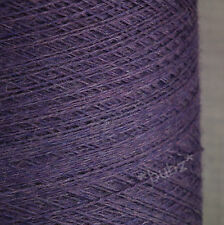 ZEGNA BARUFFA CASHWOOL PURE MERINO WOOL 2/30s * GRAPE MELANGE LACEWEIGHT COBWEB