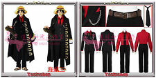 One Piece Strong World Monkey D. Luffy Cosplay Costume