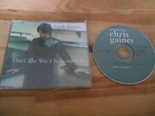 CD Country Garth Brooks Chris Gaines - That's The Way (1 Song) Promo CAPITOL sc
