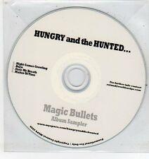 (ET478) Hungry and the Hunted, Magic Bullets 4 track sampler - 2009 DJ CD